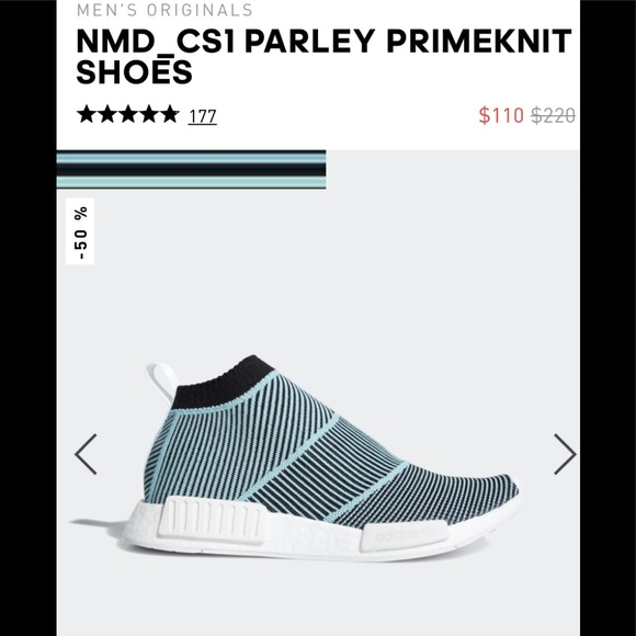 3d6d67335c2d4 adidas Other - NMD city sock Parley